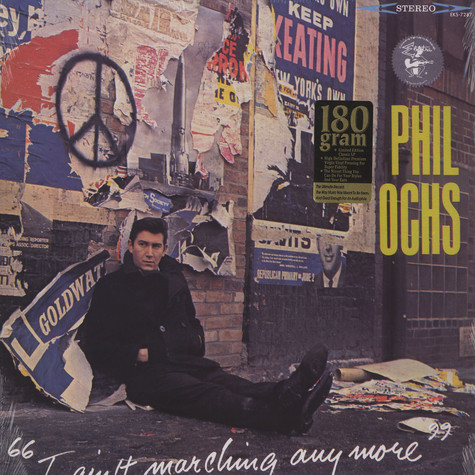 Phil Ochs - I ain't marching any more