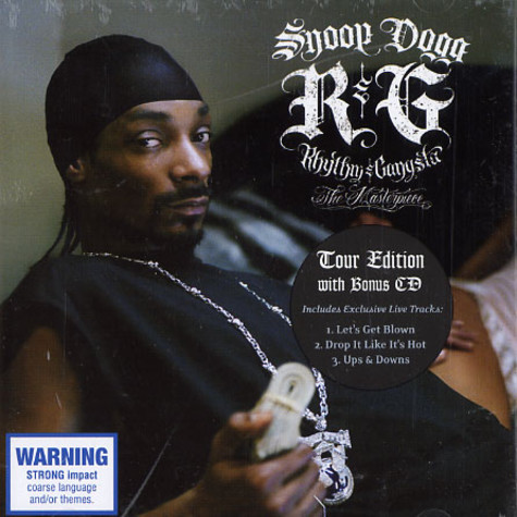 Snoop Dogg - R & G (rhythm & gangstas): the masterpiece