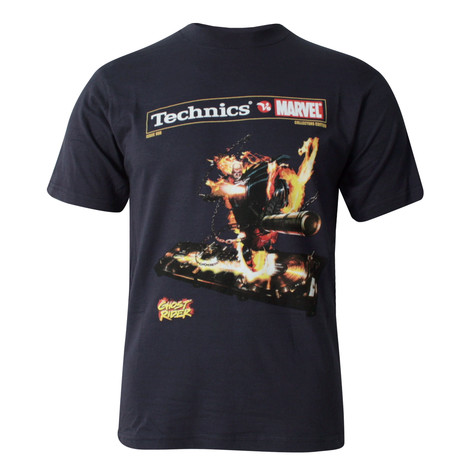Technics vs Marvel - Ghost Rider T-Shirt