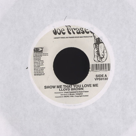 Lloyd Brown - Show me that you love me