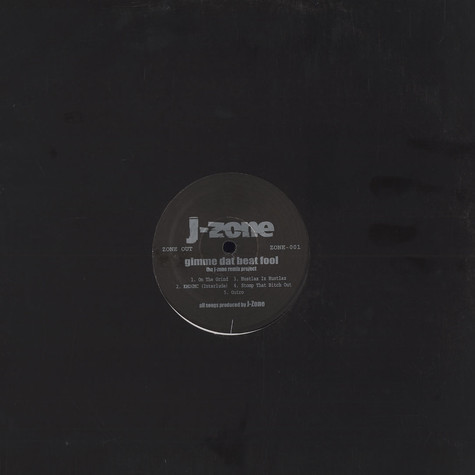 J-Zone - Gimme dat beat fool - the j-zone remix project