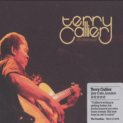 Terry Callier - Welcome home - live at the Jazz Cafe London