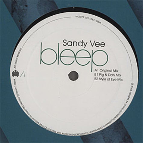 Sandy Vee - Bleep