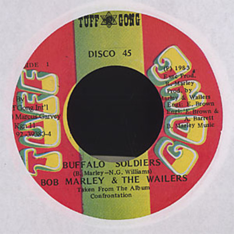 Bob Marley & The Wailers - Buffalo soldiers