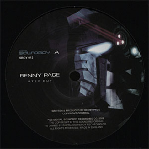 Benny Page - Step out