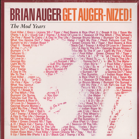 Brian Auger - Get Auger-nized! the mod years