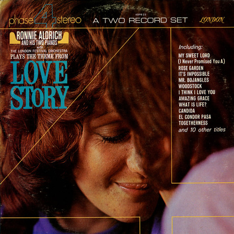 Ronnie Aldrich - Love story