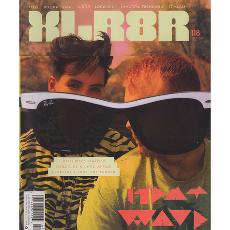 XLR8R Magazine - 2008 - June / July - Issue 118