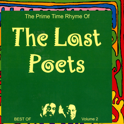 Last Poets, The - The prime time rhyme of the Last Poets - the best of volume 2