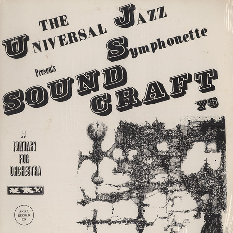 Universal Jazz Symphonette, The - Sound craft 75