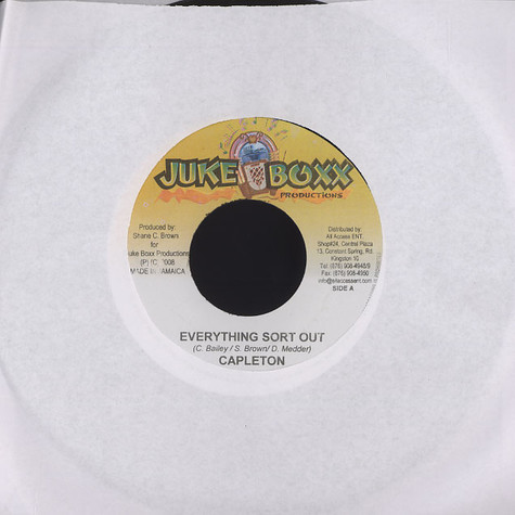 Capleton - Everything sort out