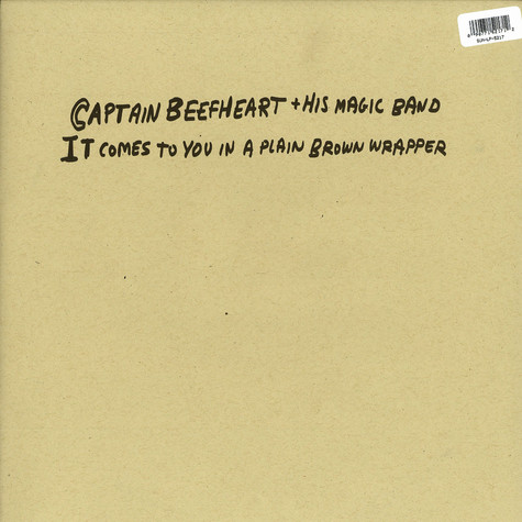 Captain Beefheart And His Magic Band - It comes to you in plain brown wrapper