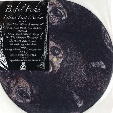Babel Fishh - Fathers first musket EP