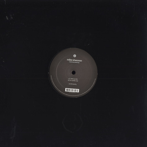 Mike Shannon  - Memory seed EP