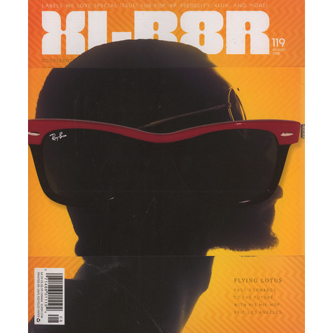 XLR8R Magazine - 2008 - August - Issue 119