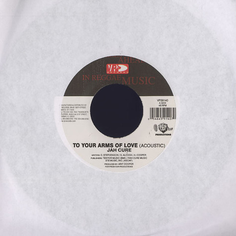 Jah Cure / Sanjay - To your arms of love / man of my word