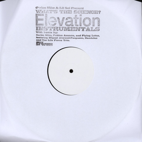 What's The Science (Carlos Nino of Ammon Contact & Lil Sci of Scienz Of Life) - Elevation Instrumentals