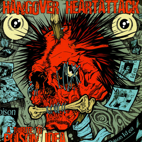 V.A. - Hangover heartattack - a tribute to poison idea