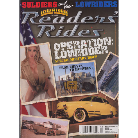 Lowrider Magazine presents - Readers' rides - soldiers and their lowriders