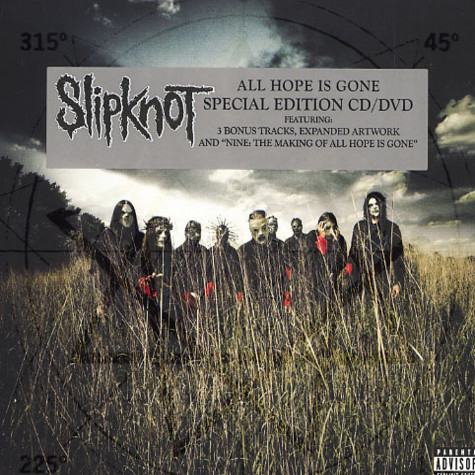 Slipknot - All hope is gone special edition