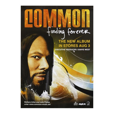 Common - Finding forever poster
