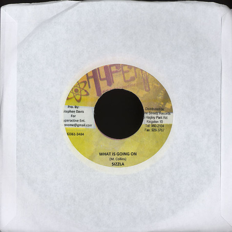 Sizzla / Ice Cold - What is going on / set good