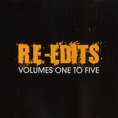 Re-Edits - Volumes 1 to 5
