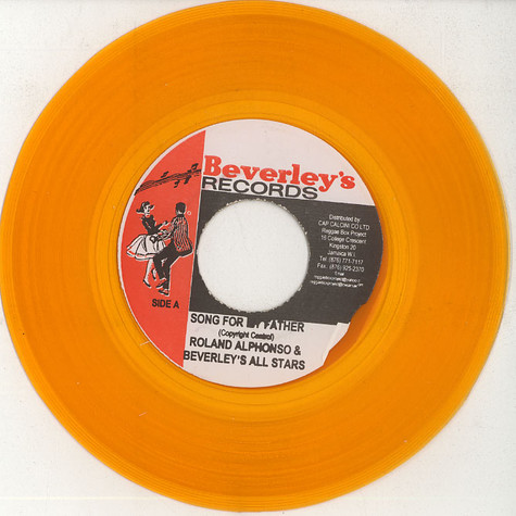 Roland Alphonso / The Gaylads - Song for my father / it's all in the game