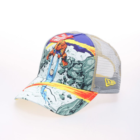 New Era x Marvel - Hiddenland Fantastic 4 trucker hat