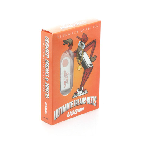 Ultimate Breaks & Beats - The complete collection limited edition USB stick