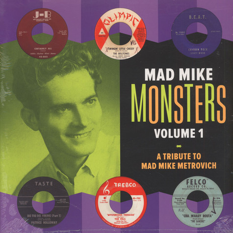 Mad Mike Monsters - Volume 1