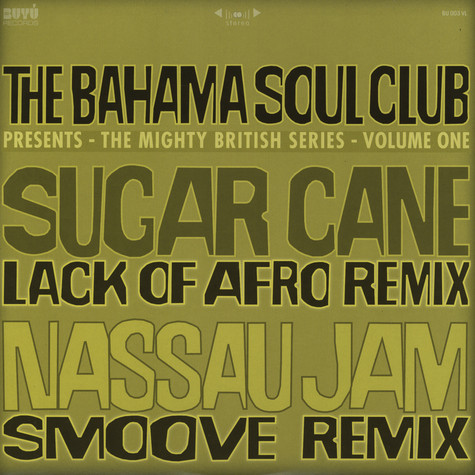 Bahama Soul Club, The - Remixes - The Mighty British Series