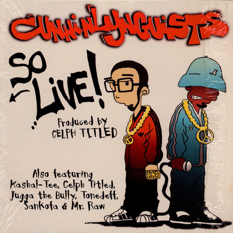 Cunninlynguists - So Live!