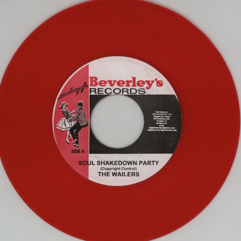 Wailers, The - Soul shakedown party