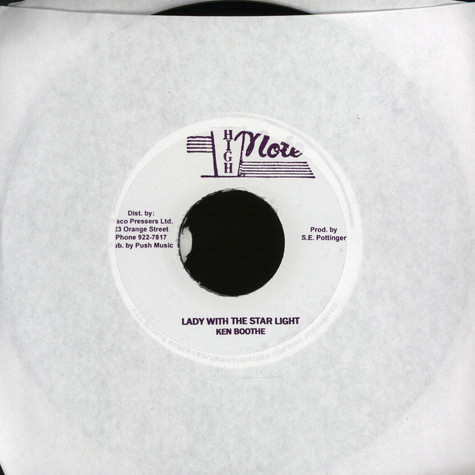 Ken Boothe - Lady with the star light