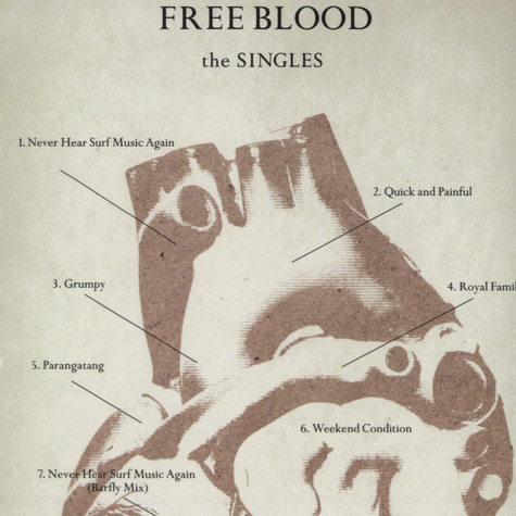Free Blood - The singles