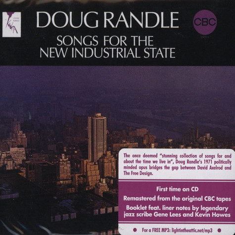Doug Randle  - Songs for the new industrial state