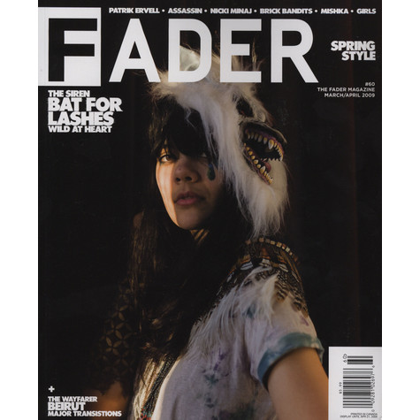 Fader Mag - 2009 - March / April - Issue 60