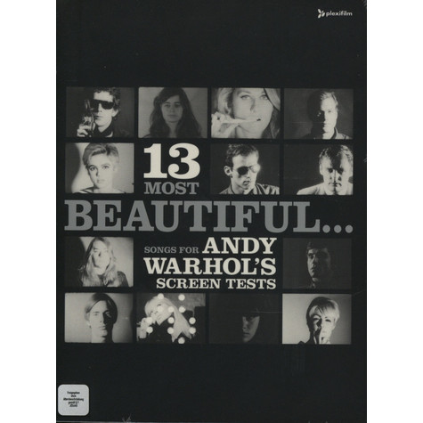 Andy Warhol - 13 most beautiful ... songs for screen tests