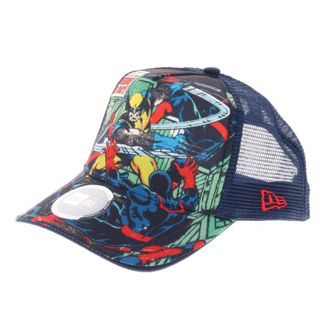 New Era x Marvel - X-Men whipped trucker hat (Navy)  c2fdb82826f