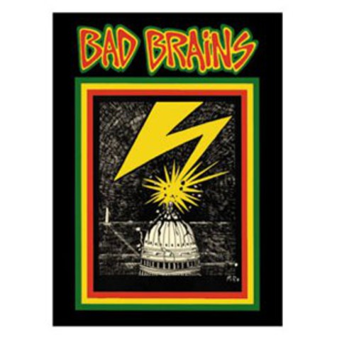 Bad Brains - Capitol Poster