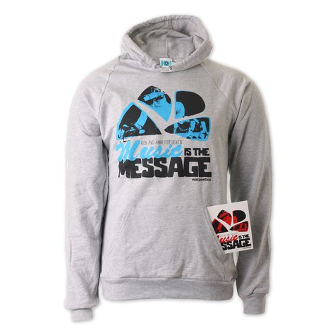 101 Apparel x Kon & Amir - Music Is The Message Hoodie