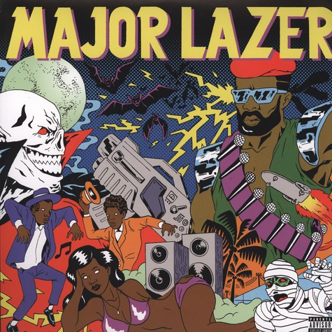 Major Lazer - Guns Don't Kill People … Lazers Do