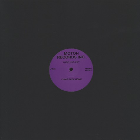Moton - Come Back Home