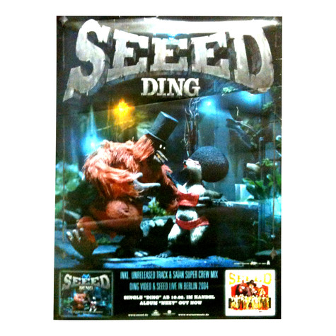 Seeed - Ding Poster