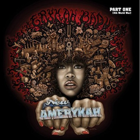 Erykah Badu - New AmErykah part 1 Poster