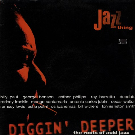 V.A. - Diggin deeper Volume 1 - jazz thing (the roots of acid jazz)