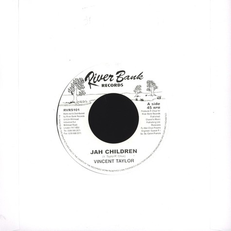 Vincent Taylor - Jah Children