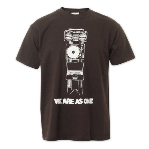 DMC & Technics - We Are As One T-Shirt
