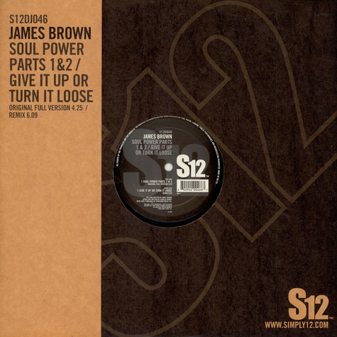 James Brown - Soul power pt. 1 & 2